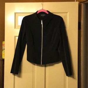 Short Black Perfect Jacket